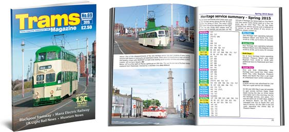 TRAMS magazine 69