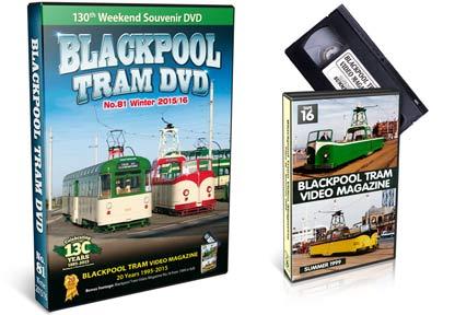 Blackpool Tram DVD 81
