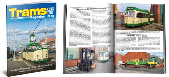 Trams Magazine 72