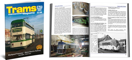 TRAMS Magazine 77 - Summer 2017