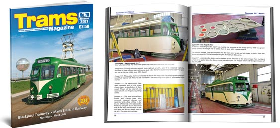 TRAMS Magazine 78 - Autumn 2017