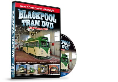Blackpool Tram DVD No.88 - Autumn 2017