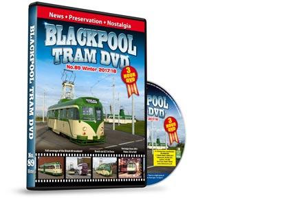 Blackpool Tram DVD No.89 - Winter 2017/18